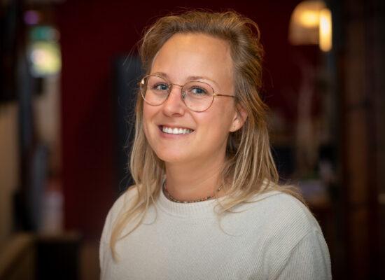 Portretfoto van Sandra Dijkstra