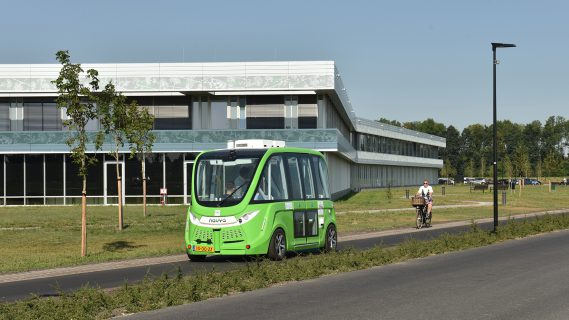 Proef zelfrijdend busje - Route Sappemeer