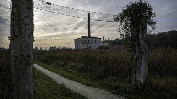 Het voormalig fabrieksterrein De Eendracht.
