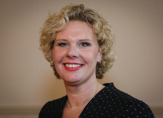 Portretfoto van Kristel Rutgers