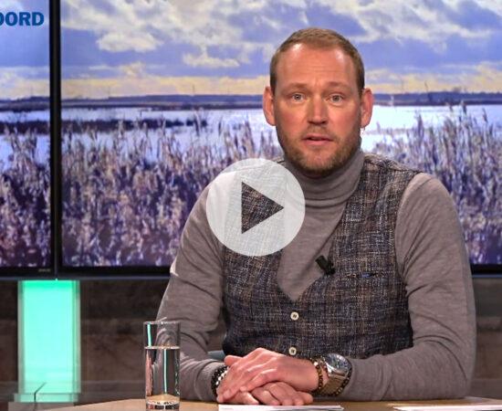 Screenshot van de toukomstuitzending van RTV Noord met een playknop