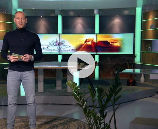 Screenshot van het promotiefilmpje voor de Toukomstaflevering van RTV Noord