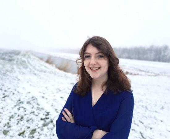 Portret van Desirée Blaauw