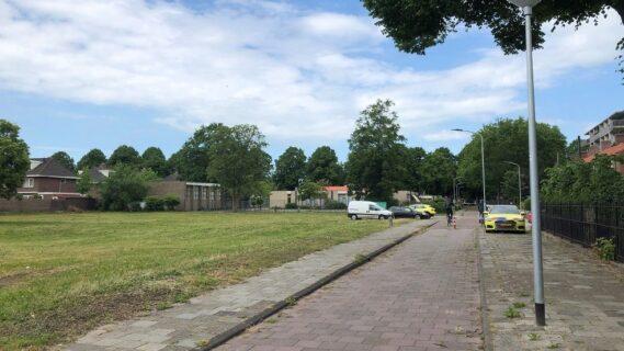 Decoratieve afbeelding van een straat in Hoogezand-Noord