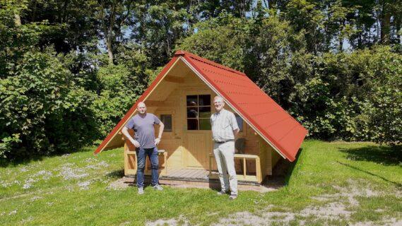 Trekkershut Camping Holland Poort